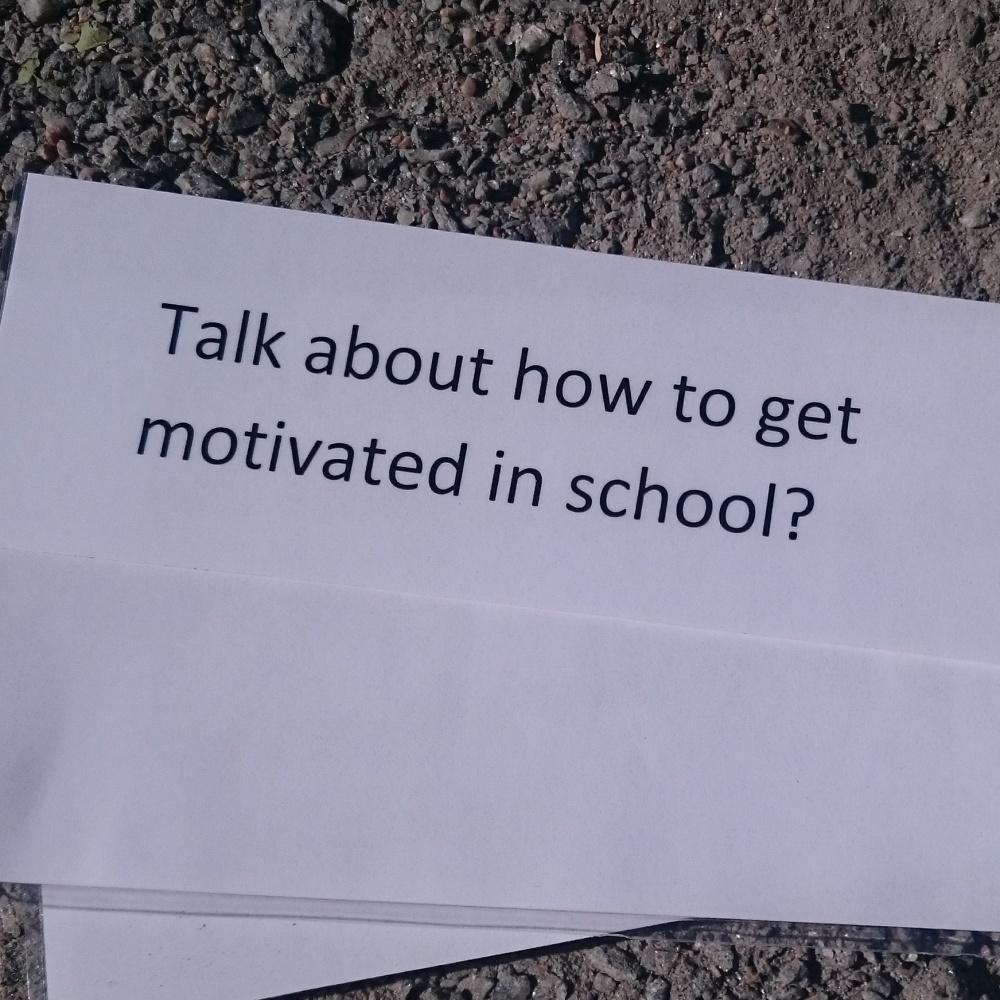Walk and talk med elever (2/2)
