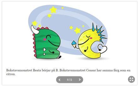 B och C